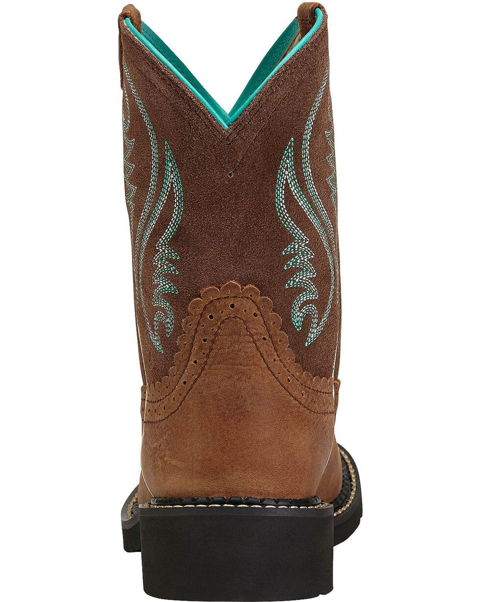 Ariat Fatbaby Heritage Cowgirl Boots, Espresso, hi-res