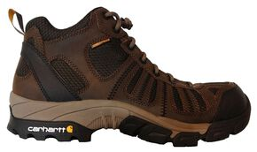 Carhartt Lightweight Waterproof Hiking Boots - Composite Toe, Brown, hi-res