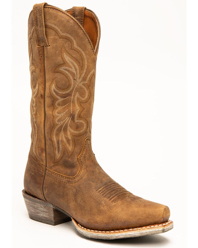 Shyanne Women's Xero Gravity Western Boots - Snip Toe, Brown, hi-res