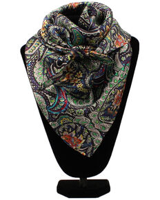 M&F Western Women's Floral Wild Rag Scarf, Multi, hi-res
