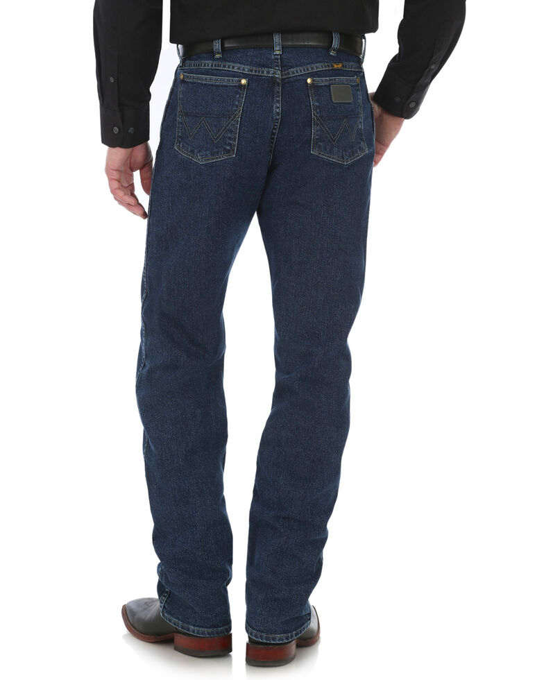George Strait by Wrangler Men's 47 Cowboy Cut Straight Leg Jeans - Tall, Blue, hi-res