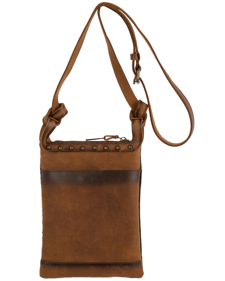 STS Ranchwear Women's Classic Cowhide Crossbody Bag, No Color, hi-res