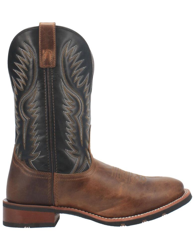 Laredo Men's Pinetop Western Boots - Round Toe, Tan, hi-res