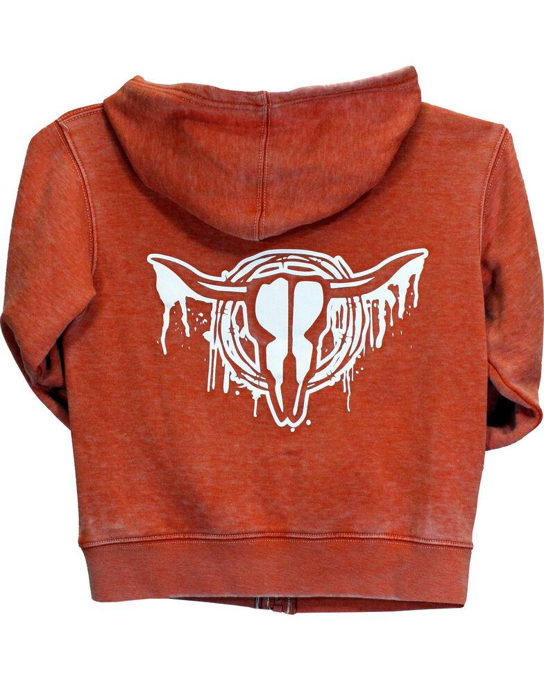 Cowboy Hardware Toddler Boys' Drip Skull Zippered Sweatshirt (6MO-4T), , hi-res