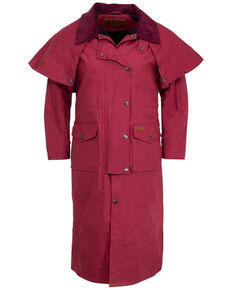 Outback Trading Co. Women's Berry Matilda Duster , Burgundy, hi-res