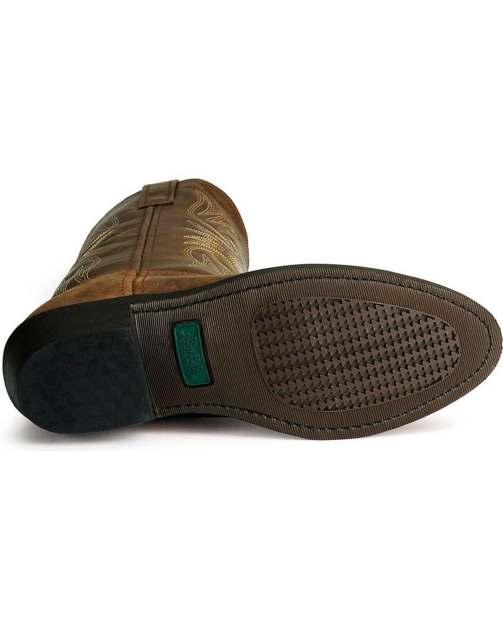 Laredo Men's Cowboy Work Boots, Distressed, hi-res