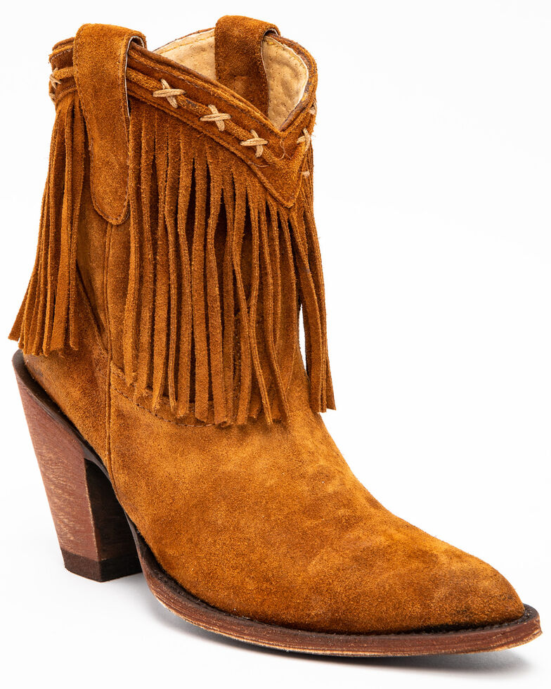 Idyllwind Women's Swagger Fashion Booties - Round Toe, Coffee, hi-res