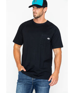 Dickies Men's Temp-IQ Performance Cooling T-Shirt, Black, hi-res
