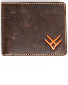 Hawx Men's Bifold Horizontal Wallet, Brown, hi-res
