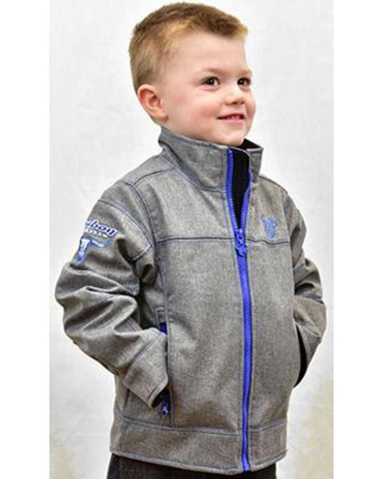 Cowboy Hardware Boys' Grey Tech Woodsman Jacket , Grey, hi-res