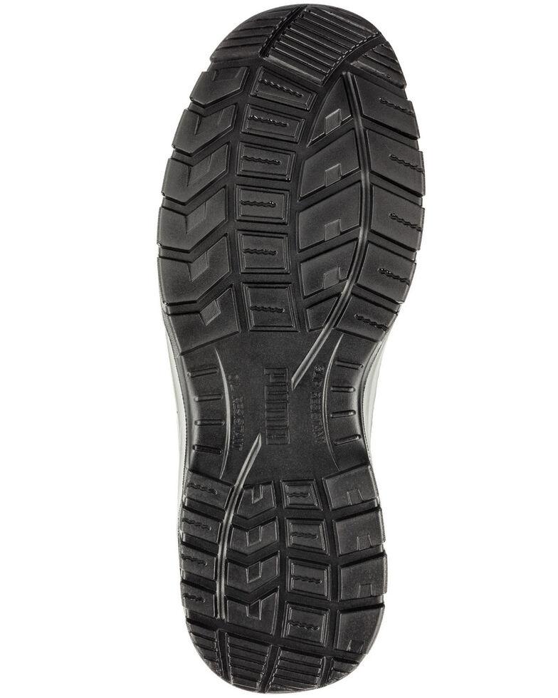 Puma Men's Omni Safety Shoes - Steel Toe, Brown, hi-res