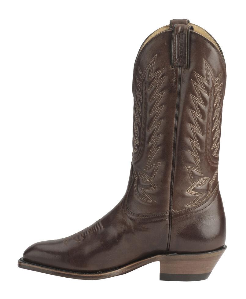 Boulet Men's Dress Western Boots - Snip Toe, Tan, hi-res