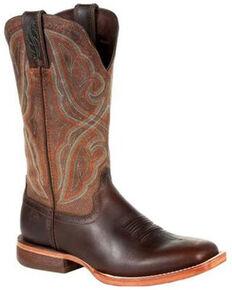 Durango Women's Arena Pro Western Boots - Square Toe , Brown, hi-res