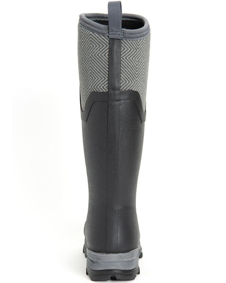Muck Boots Women's Grey Arctic Ice Waterproof Rubber Boots - Round Toe, Grey, hi-res