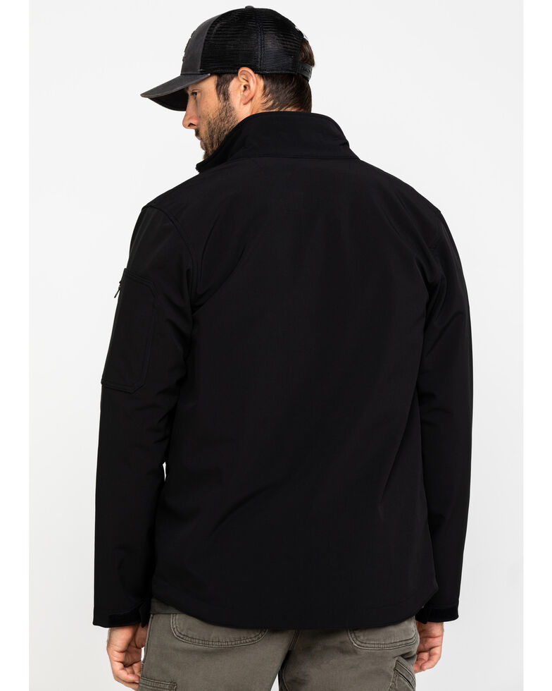 Carhartt Men's Roughcut Work Jacket, Black, hi-res