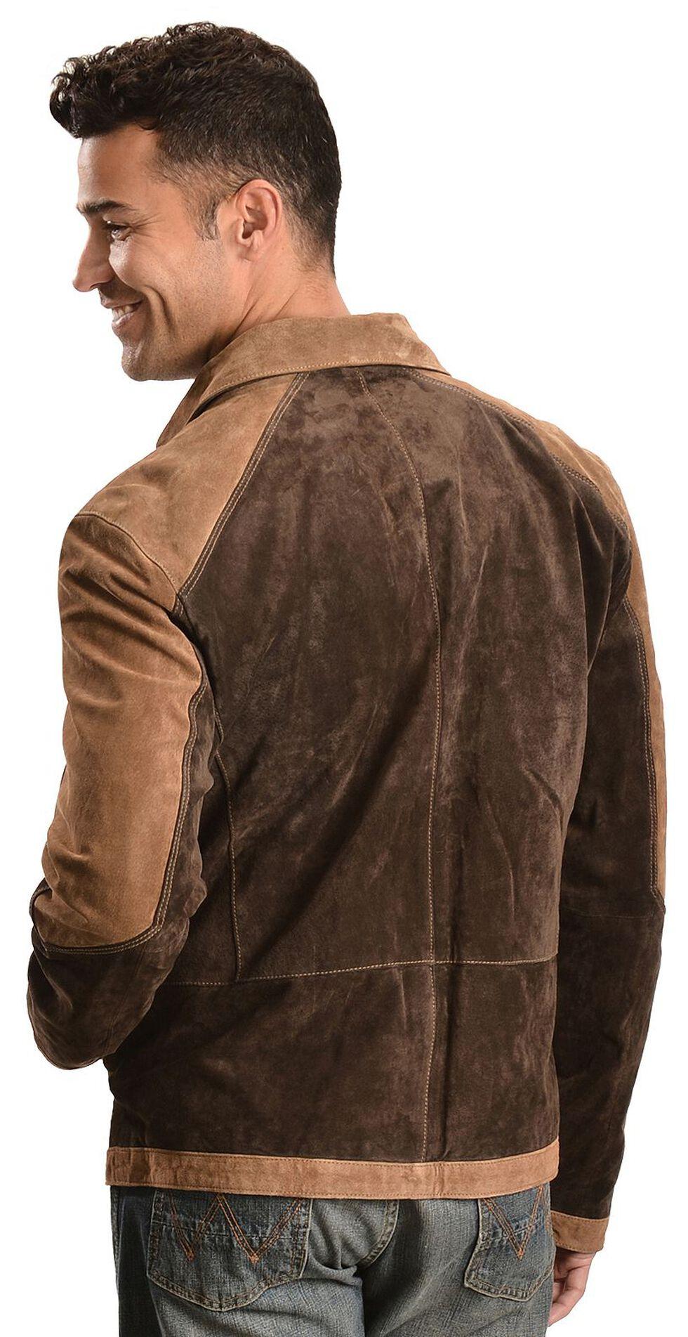 Scully Suede Colorblock Jacket, Brown, hi-res