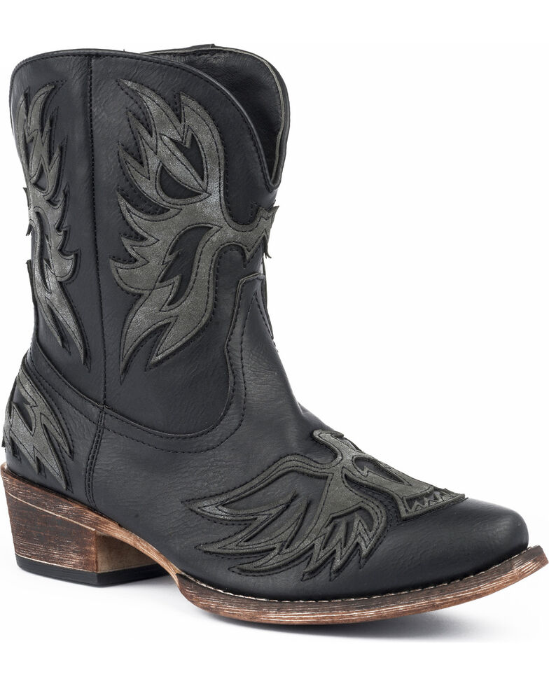 ff33384443ff Roper Women s Amelia Eagle Overlay Western Boots - Snip Toe ...