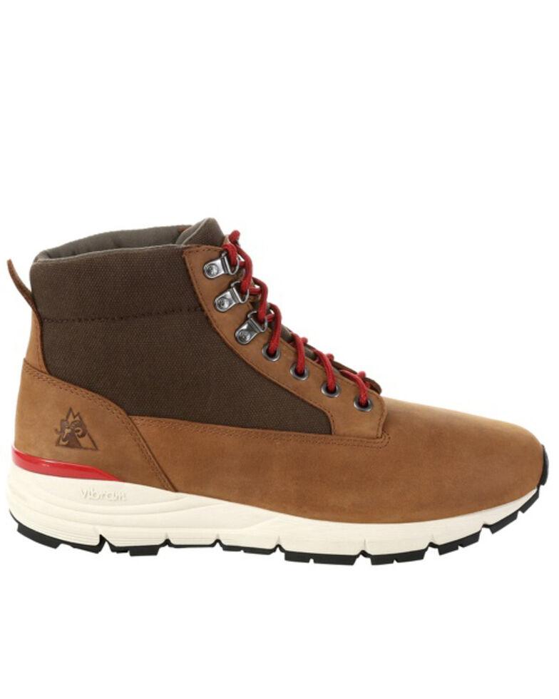 Rocky Men's Rugged Waterproof Outdoor Boots - Soft Toe, Brown, hi-res
