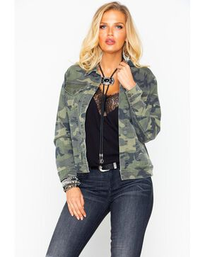 Miss Me Women's Camo Jacket , Camouflage, hi-res