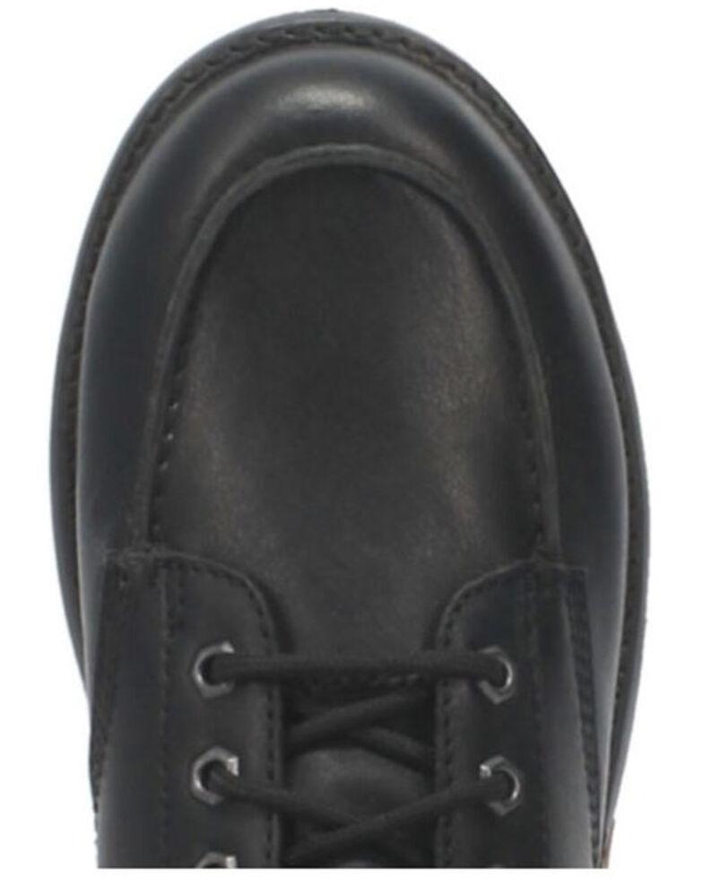 Dingo Men's Tailgate Lace-Up Boots - Moc Toe, Black, hi-res