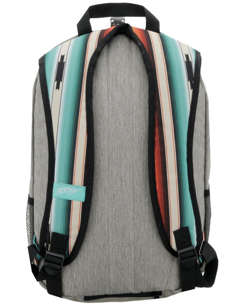 HOOey Rockstar Serape Stripe Backpack, Grey, hi-res