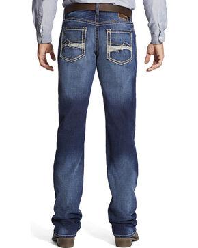 Ariat Men's M4 Whitewash Jeans - Boot Cut , Indigo, hi-res