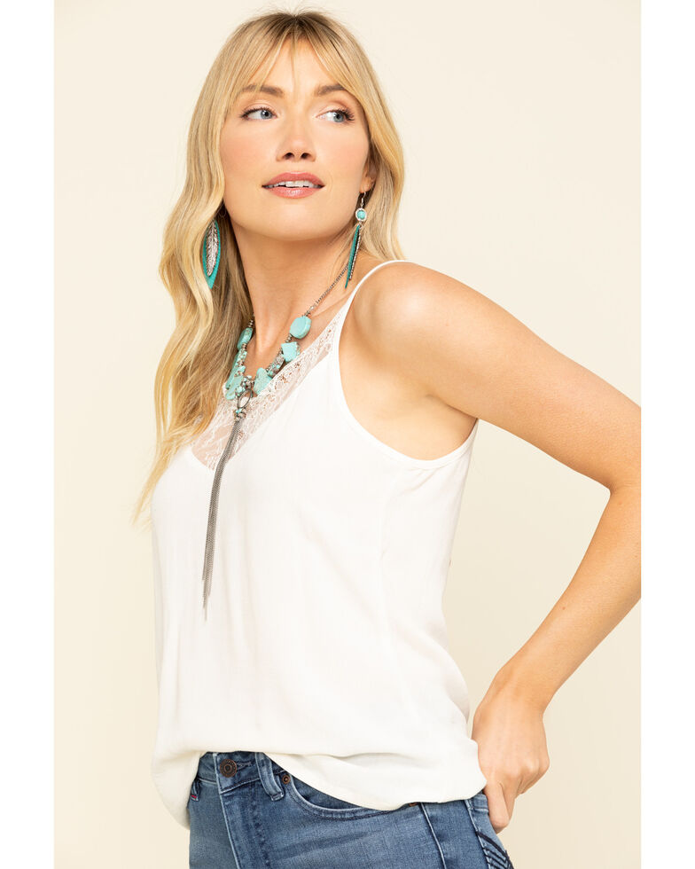 Idyllwind Women's Gone Wild Cami, Natural, hi-res