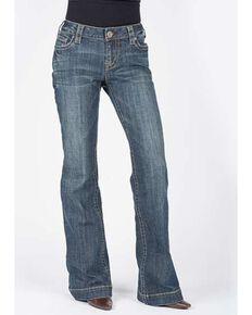 Stetson Women's Medium 214 Trouser Jeans, Indigo, hi-res
