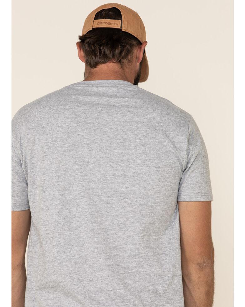 Levi's Men's Mattias Heather Grey Batwing Logo Graphic T-Shirt, Heather Grey, hi-res