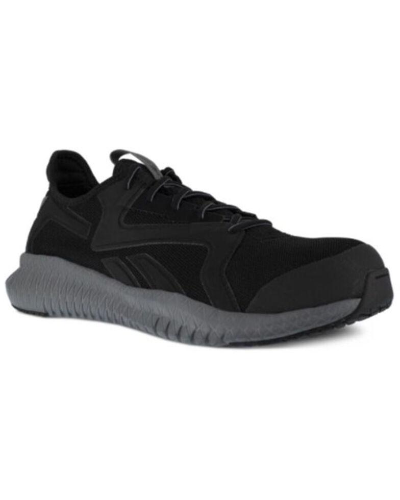 Reebok Men's Flexagon 3.0 Work Shoes - Composite Toe, Black, hi-res