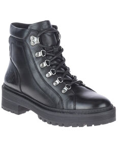Harley Davidson Women's Dalwood Moto Boots - Soft Toe, Black, hi-res