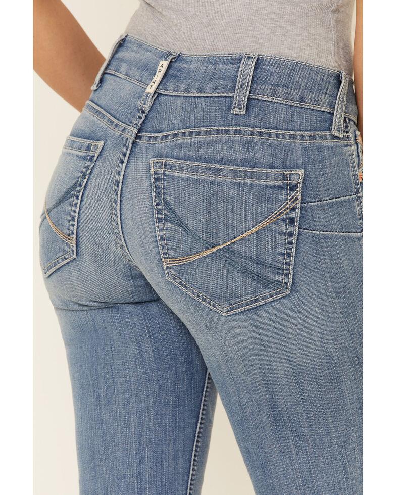 Ariat Women's Vivian Bootcut Jeans, Blue, hi-res