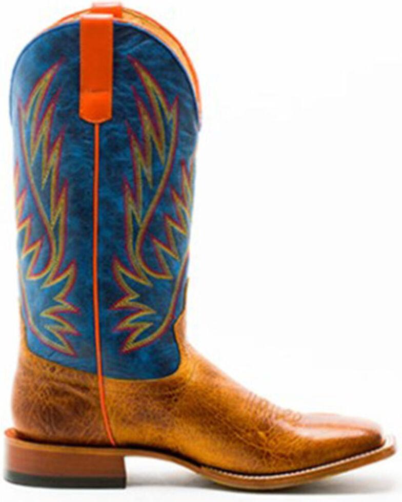 HorsePower Men's Blue Jean Baby Western Boots - Square Toe, Tan, hi-res