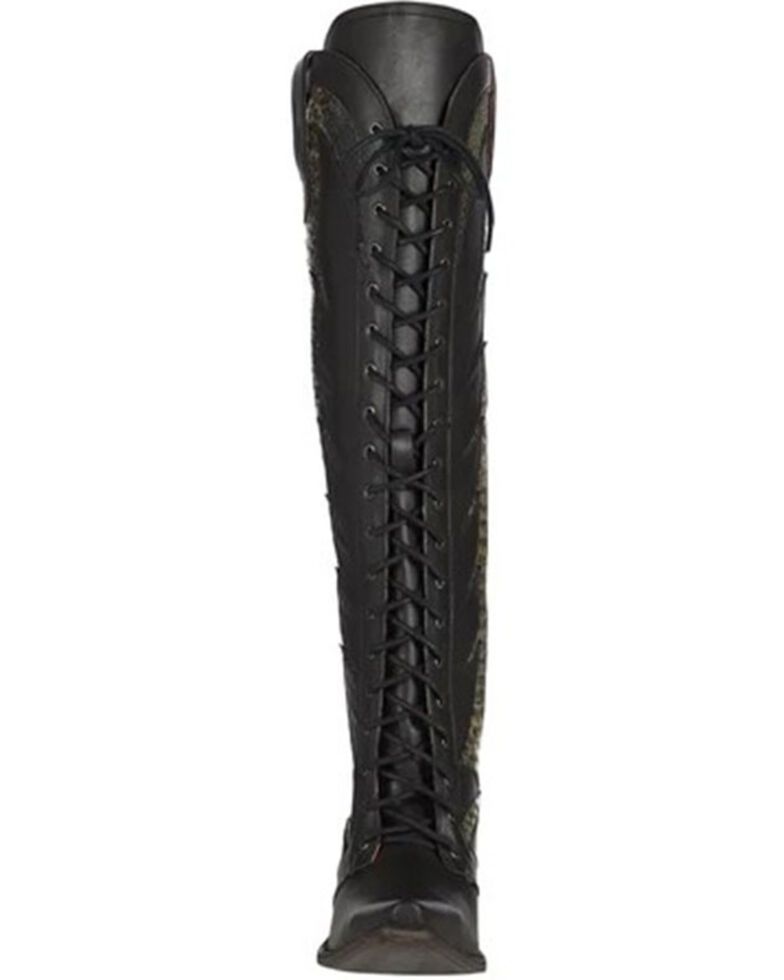 Lane Women's Trail Boss Western Boots - Snip Toe, Black, hi-res