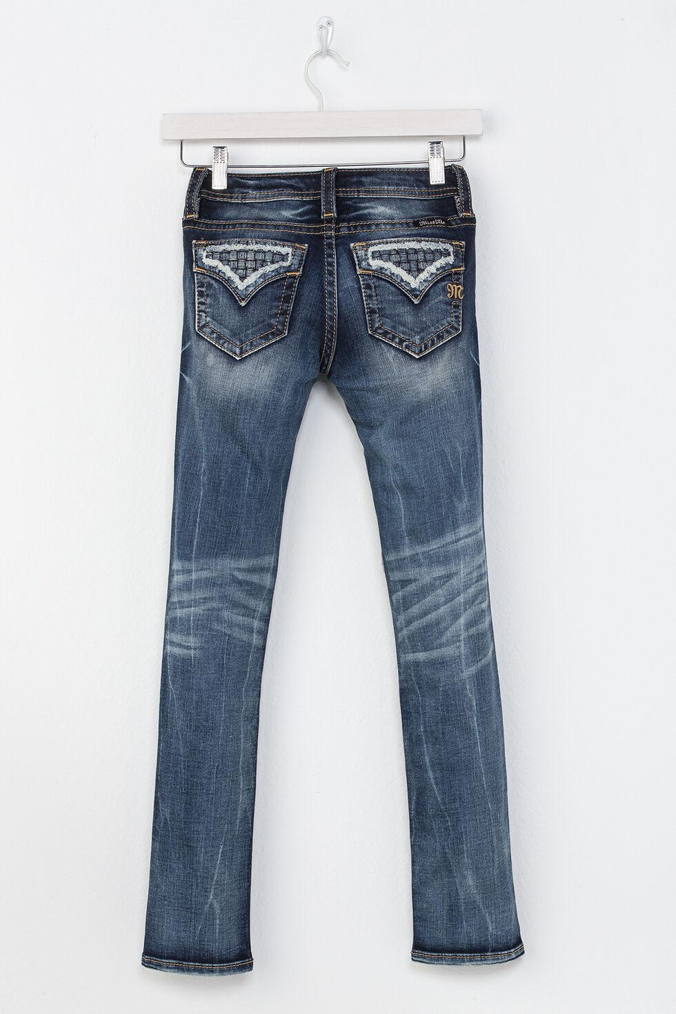 Miss Me Girls' Going Rogue Skinny Jeans, Indigo, hi-res