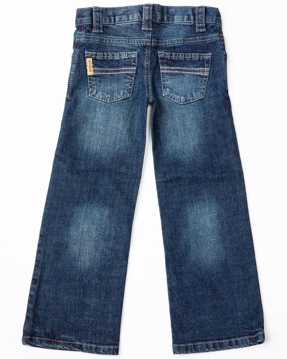 Cinch Boys' Carter Dark Stone Regular Boot Jeans, No Color, hi-res