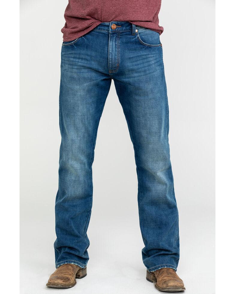 Wrangler Retro Men's Kyle Premium Slim Boot Jeans , Blue, hi-res
