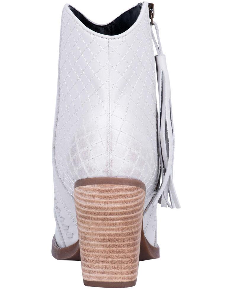 Dingo Women's Dream Big Fashion Booties - Snip Toe, Off White, hi-res