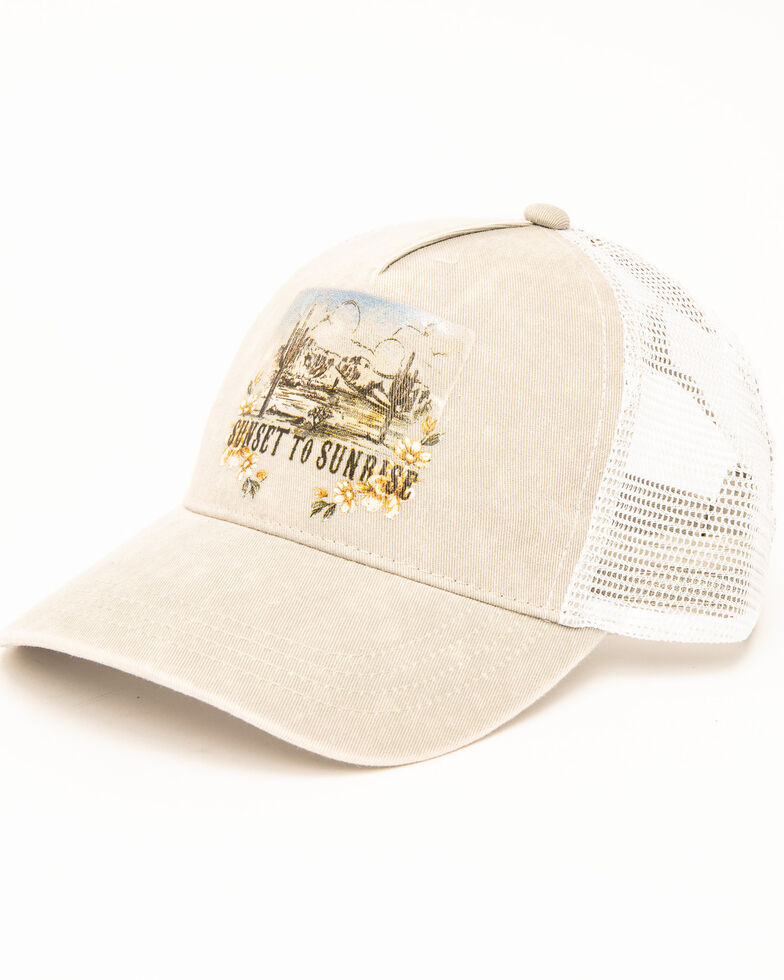 Shyanne Women's Sunset to Sunrise Cap, Grey, hi-res