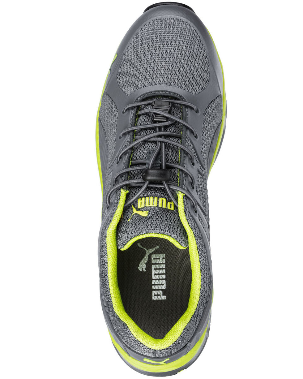 Puma Men's Fuse Motion Work Shoes - Composite Toe, Grey, hi-res