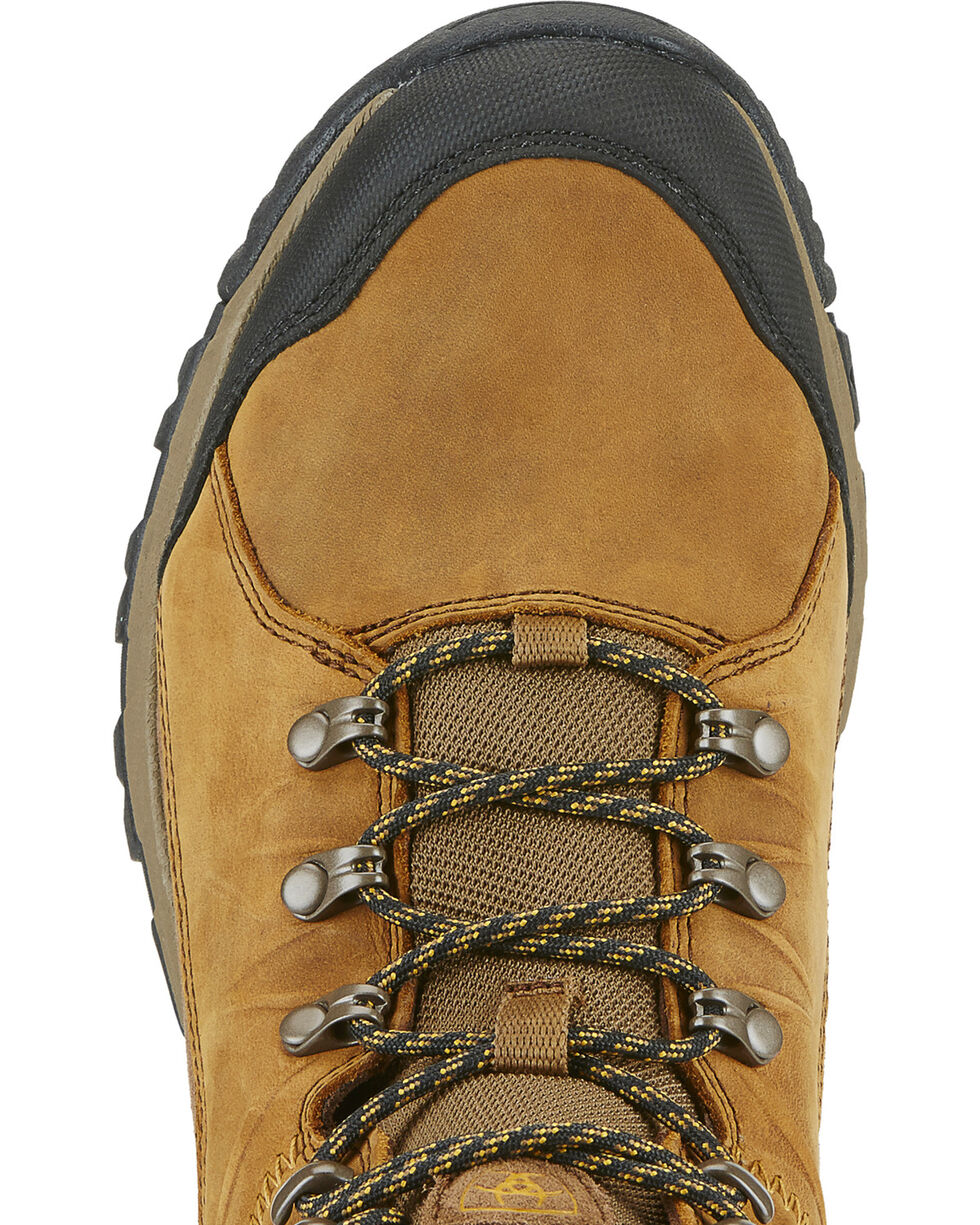 Ariat Men's Skyline Mid GTX Frontier Hiking Boots - Round Toe, Brown, hi-res