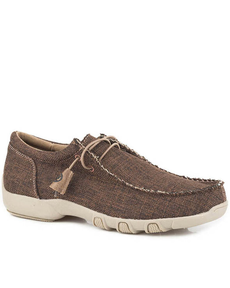 Roper Women's Chillin' Casual Shoes - Moc Toe, Brown, hi-res