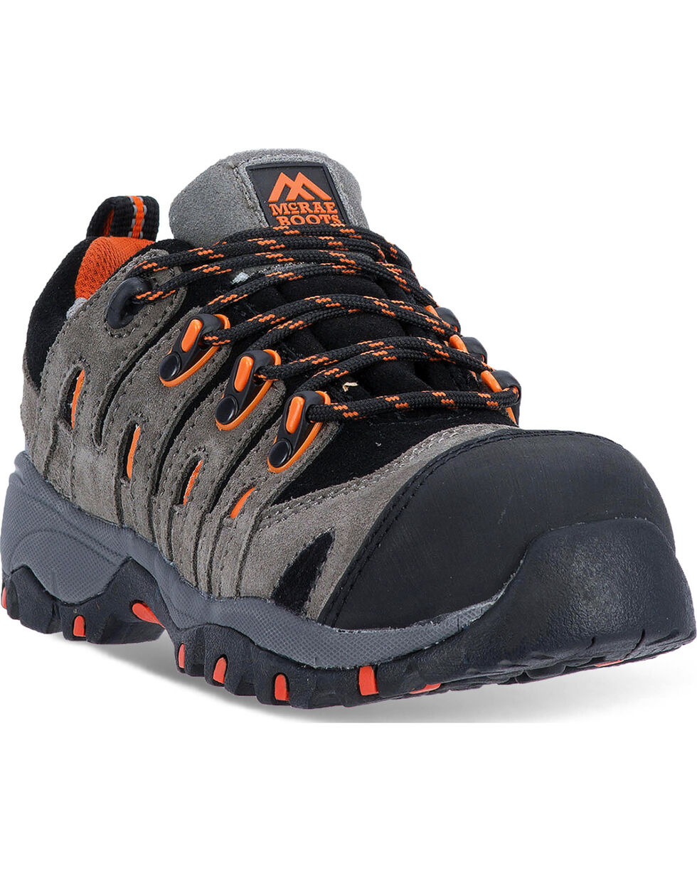 McRae Women's Grey Industrial Hiker Shoes - Composite Toe, Grey, hi-res