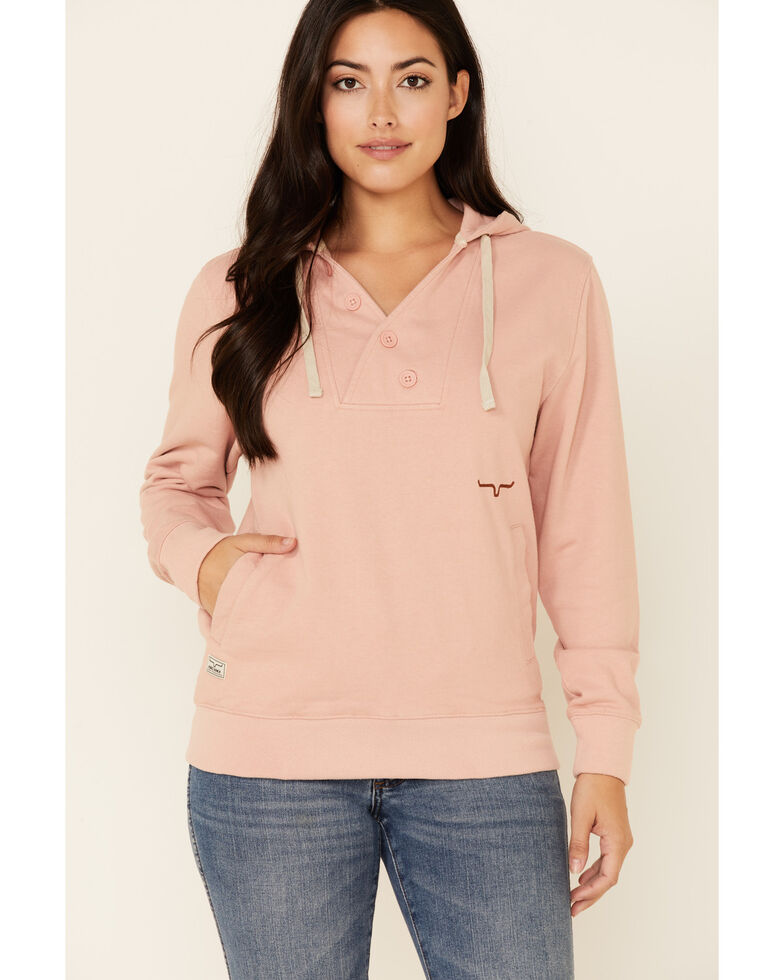 Kimes Ranch Women's Dusty Pink Private Idaho Hoodie, Pink, hi-res