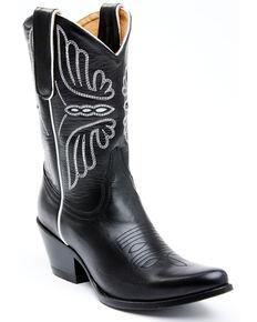 Idyllwind Women's Ace Black Western Boots - Round Toe, Black, hi-res