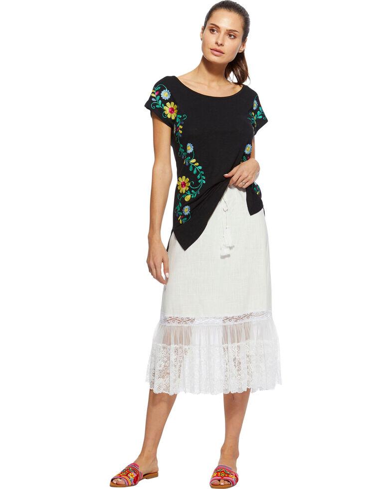 Angel Premium Women's Davis Skirt , White, hi-res