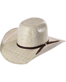 a724e8d71aa35 Hooey by Resistol Men s Natural Pecos Straw Cowboy Hat