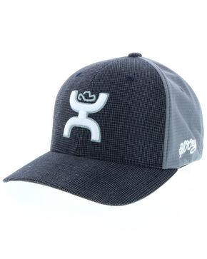 HOOey Men's Web Ball Cap, Black, hi-res