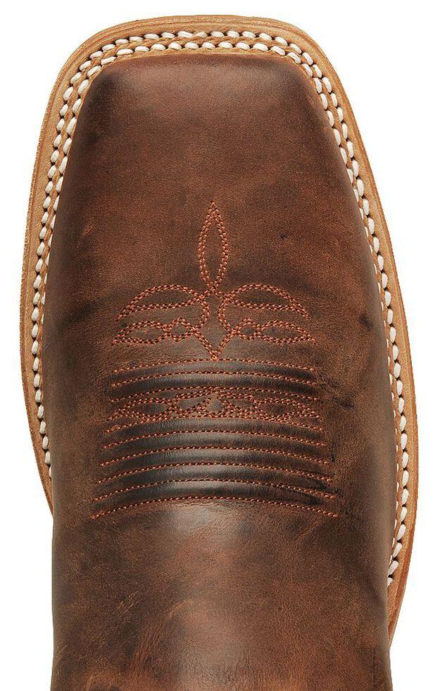 Justin Men's Bent Rail Cognac Cowboy Boots - Square Toe, Cognac, hi-res