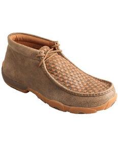 Twisted X Men's Driving Shoes - Moc Toe, Brown, hi-res